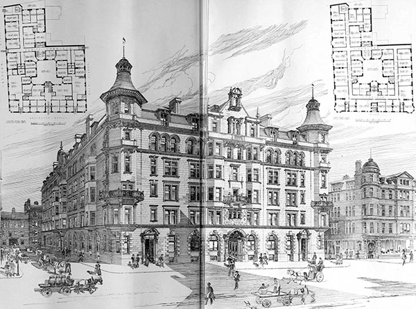 1899 – Baltic Chambers, Glasgow