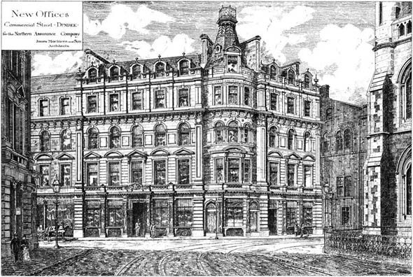 1884 &#8211; Northern Assurance Company, Dundee, Scotland