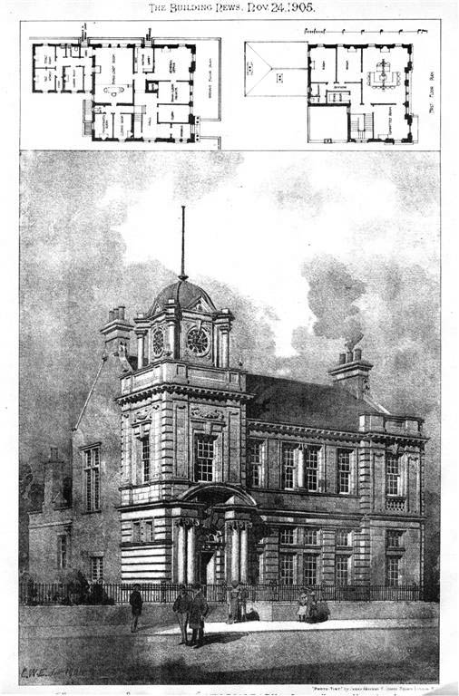1905 – Municipal Buildings, Cowdenbeath, Scotland