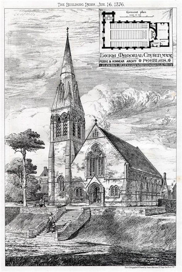 1876 &#8211; Leckie Memorial Church, Peebles