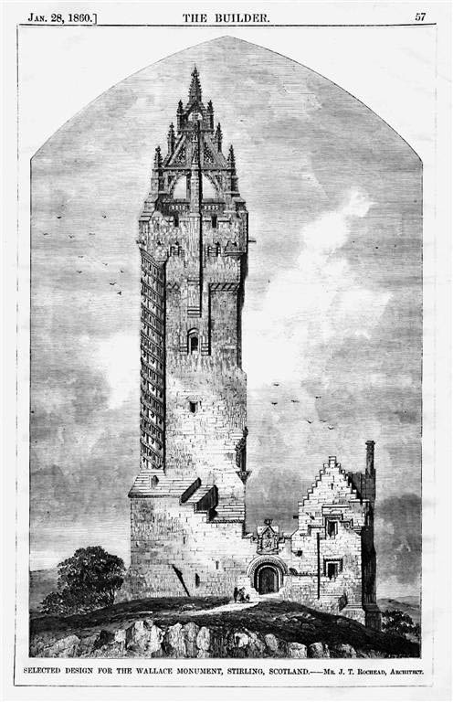 1860 – Wallace Monument, Stirling, Scotland