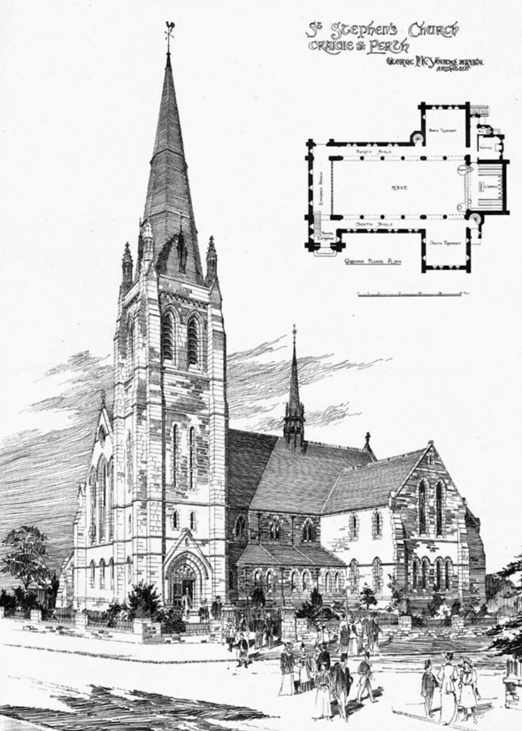 1900 – St. Stephens Church, Craigie, Perth, Scotland