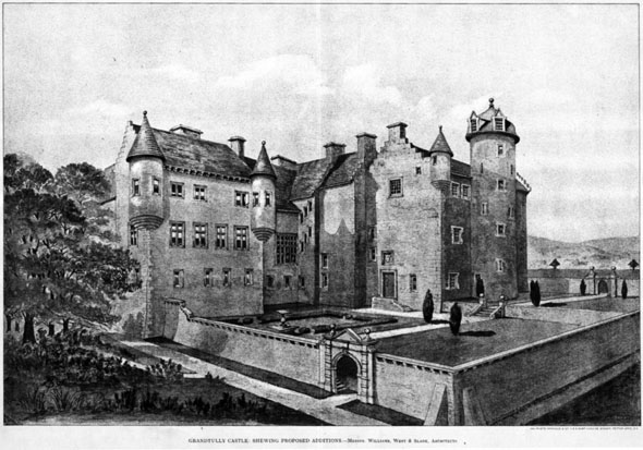 1892 &#8211; Grandtully Castle, Scotland