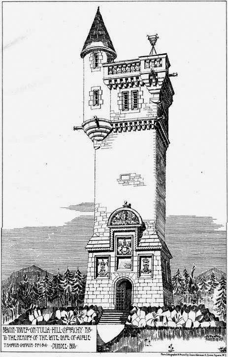 1903 &#8211; Beacon Tower, Tulla Hill, Cortachy, Scotland