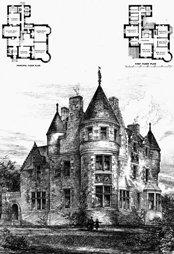 1872 – House, Colearn, Perthshire, Scotland