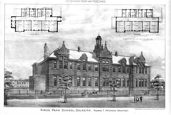 1903 &#8211; Kings Park School, Dalkeith , Scotland