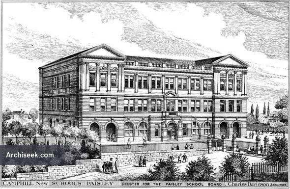 1888 – New Schools, Camphill, Paisley, Scotland