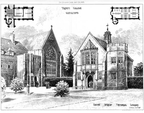 1905 &#8211; Trinity College, Glenalmond, Scotland