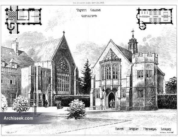 1905 – Trinity College, Glenalmond, Scotland