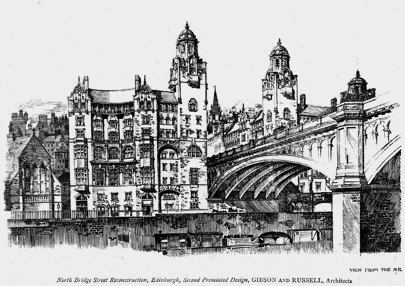 1896 – North Bridge Street Reconstruction, Edinburgh