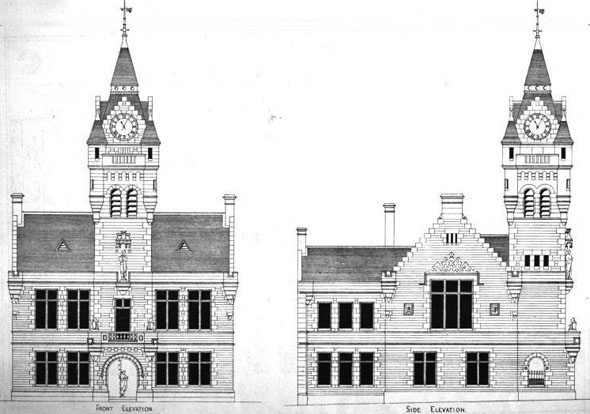 1875, New Town Hall, Annan, Dumfries and Galloway