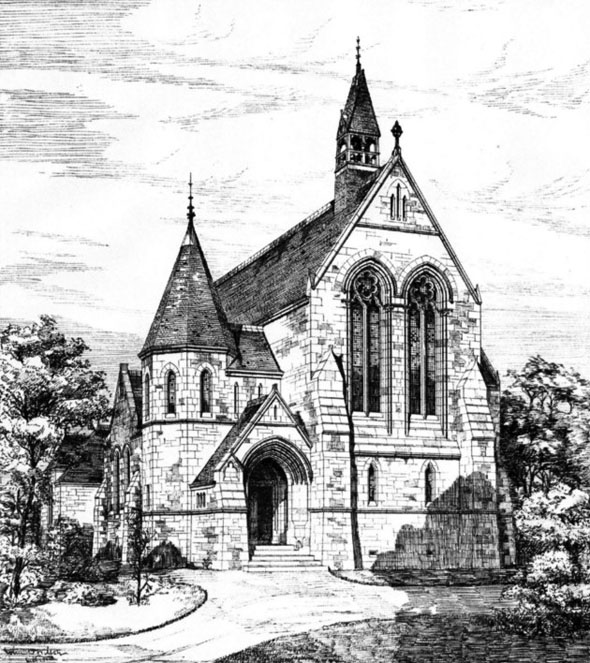 1886 &#8211; Established Church, Nr. Hamilton, South Lanarkshire, Scotland