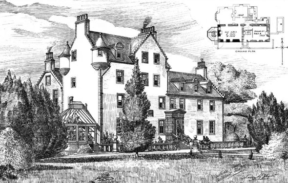 1900 &#8211; Woodside House, Beith, Ayrshire, Scotland