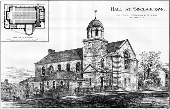 1883 – Sinclairtown Town Hall and Library, Fife, Scotland