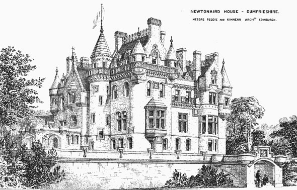1869 &#8211; Newtownaird House, Dumfriesshire