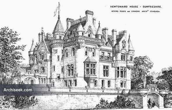 1869 – Newtownaird House, Dumfriesshire