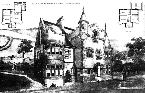 1898 – Villa, West Kilbride, Ayrshire, Scotland