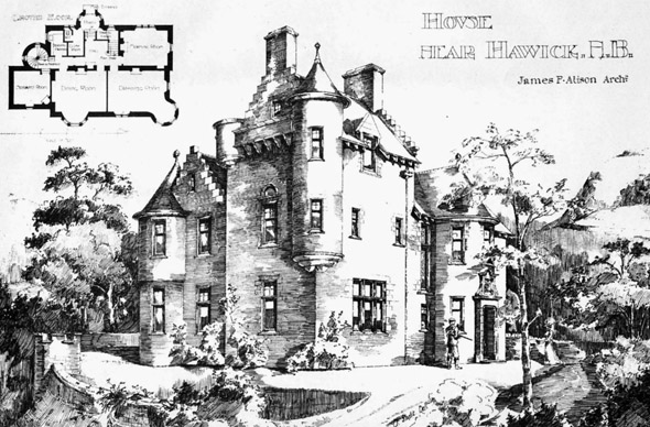 1898 – House, Hawick, Scotland