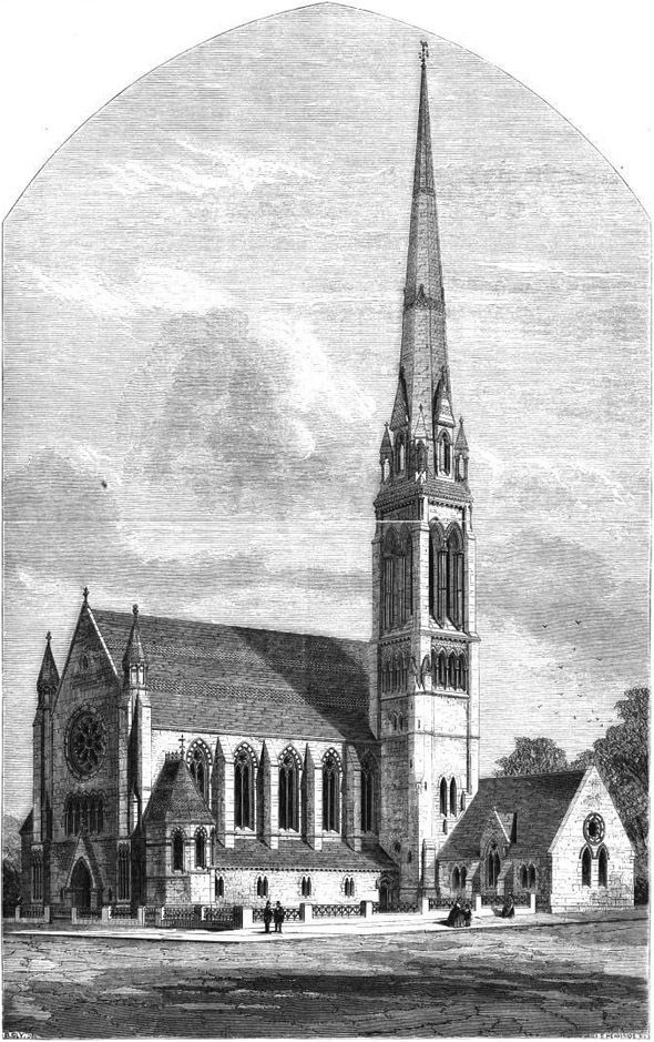 1863 – Free West Church, Greenock, Scotland