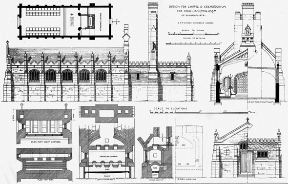 1886 – Chapel & Crematorium, Ayr, Scotland