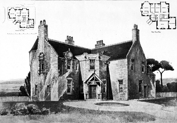 1899 – House at Gullane, East Lothian, Scotland