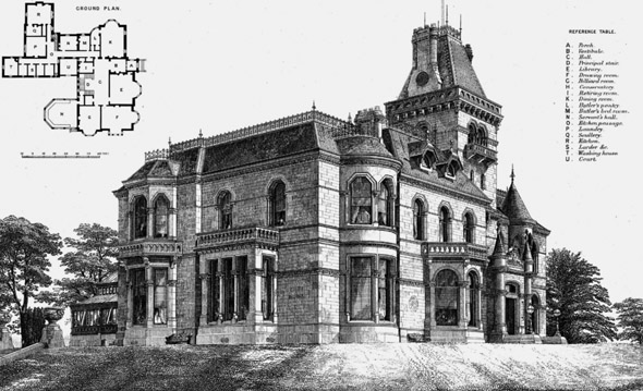 1870 – Gallowhill House, Paisley, Renfrewshire, Scotland