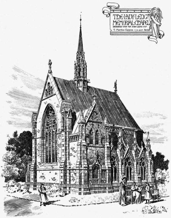 1897 &#8211; Leng Memorial Chapel, St. Andrews, Scotland