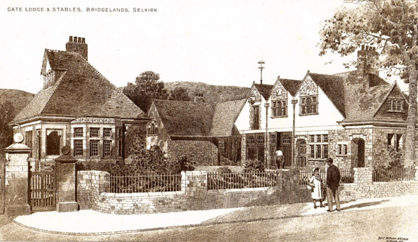 1902 &#8211; Gate Lodge &#038; Stables, Bridgelands, Selkirk, Scotland