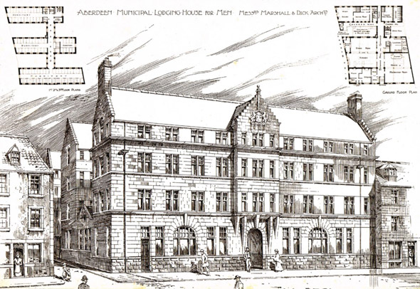 1897 – Municipal Lodging House for Men, Aberdeen, Scotland