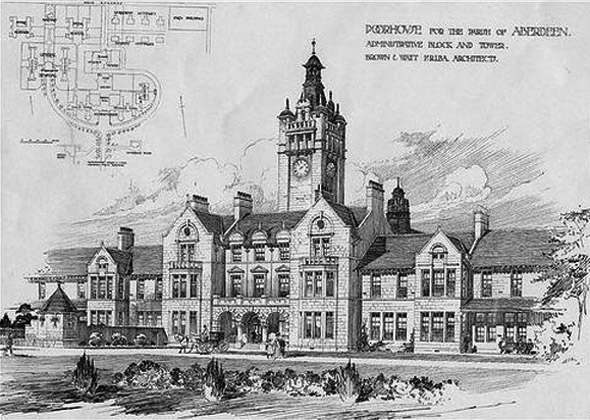 1857 – Oldmill Reformatory School for Boys, Aberdeen, Scotland