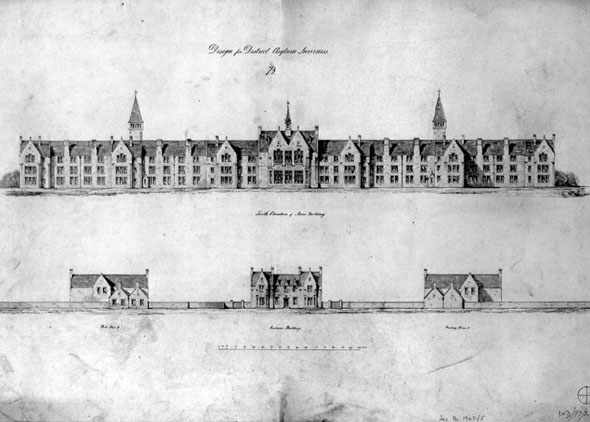 1864 – Craig Dunain Hospital, Inverness, Scotland