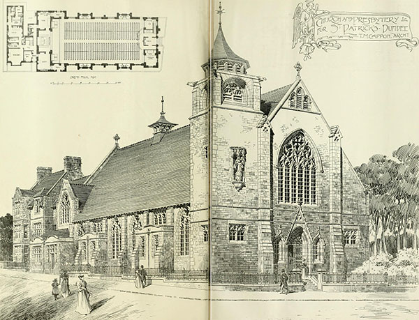 1898 – St. Patrick's Church, Dundee, Scotland