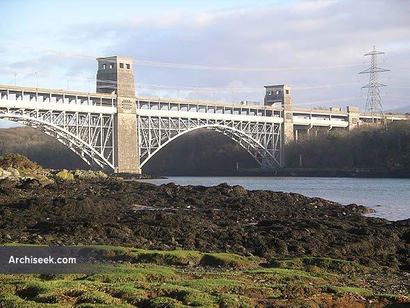 1846 – Britannia Bridge, Anglesey, Wales