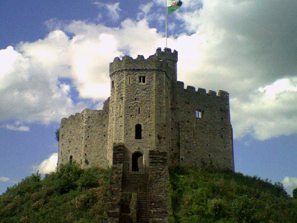1870 &#8211; Cardiff Castle, Wales
