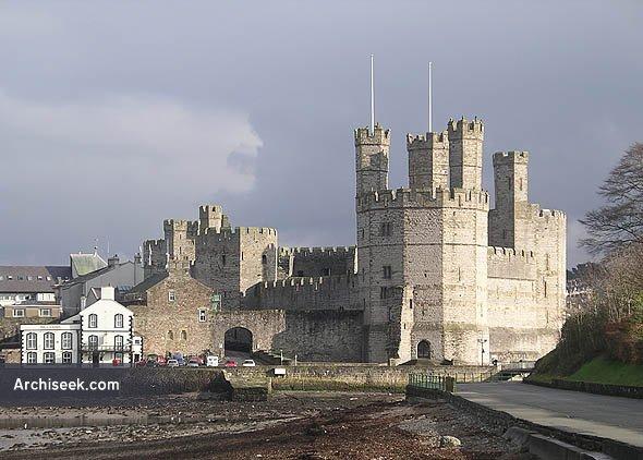 1284 – Caernarfon Castle, Wales