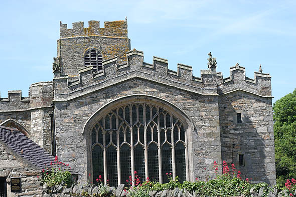 15th Century St. Beuno&#8217;s Church, Clynnog Fawr, Wales