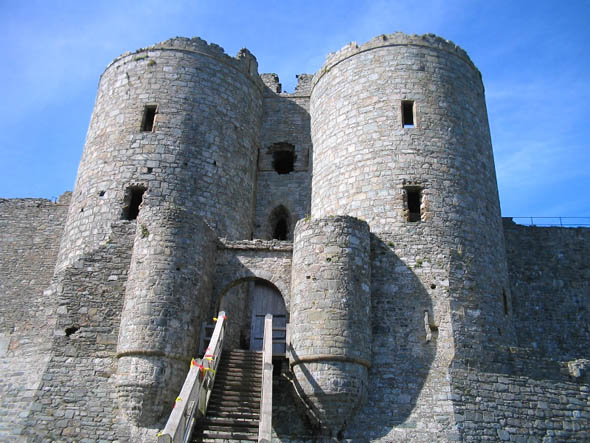 1283 &#8211; Harlech Castle, Wales