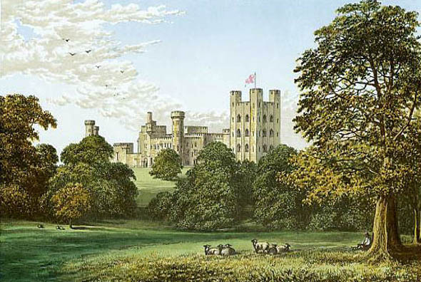 1820-45 &#8211; Penrhyn Castle, Wales