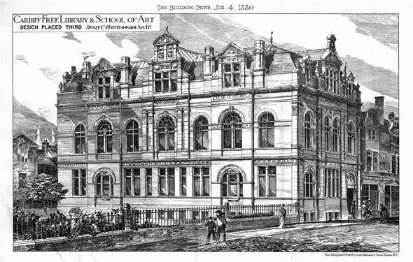 1880 &#8211; Cardiff Free Library &#038; School of Art