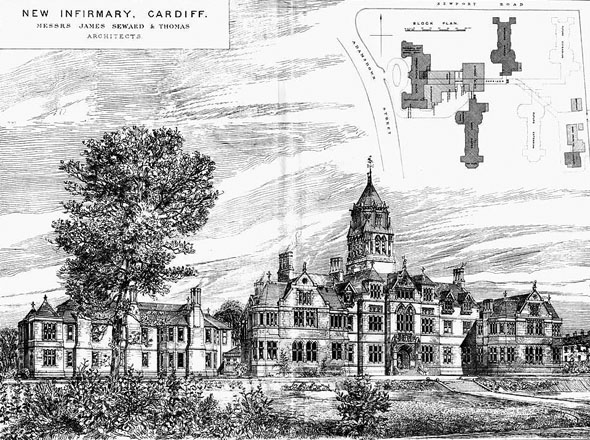 1881 &#8211; New Infirmary, Cardiff