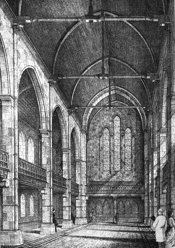1875 &#8211; Proposed Presbyterian Church, Roath, Cardiff