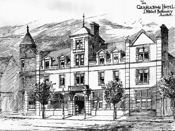 1887 &#8211; Grangetown Hotel, Middlesbrough, Yorkshire