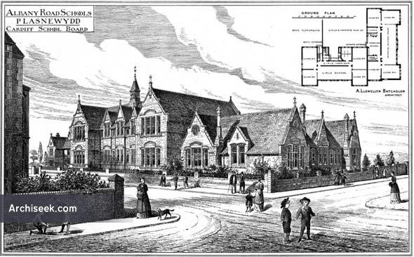 1888 – Albany Road Schools, Plasnewydd, Cardiff, Wales