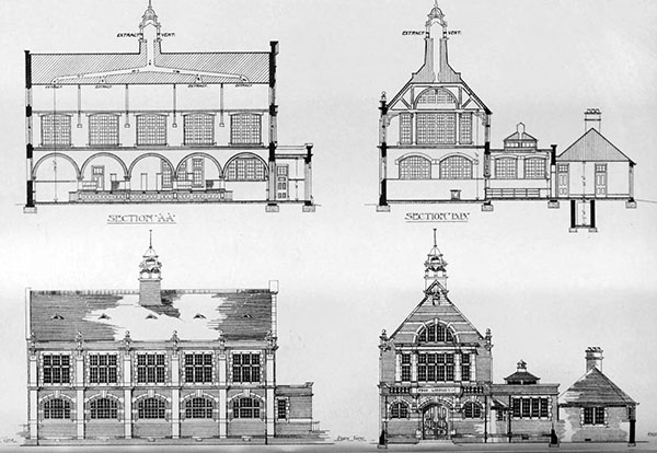 1899 – Public Library, Roath, Cardiff, Wales