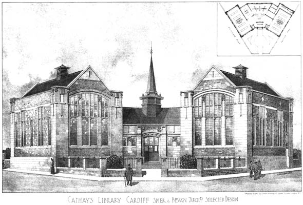 1905 &#8211; Cathays Library, Cardiff