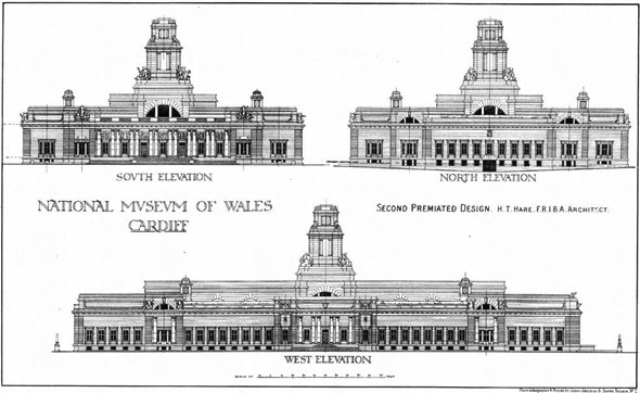 1910 – National Museum of Wales, Cardiff