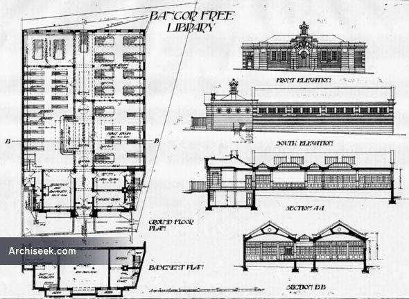 1906 – Bangor Free Library, Wales