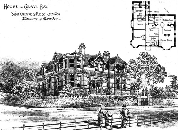 1897 – House at Colwyn Bay