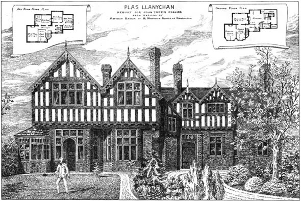 1880 &#8211; Plas Llanychan, Wales