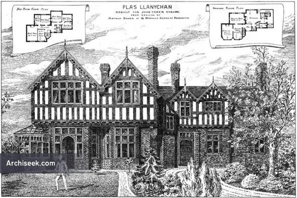 1880 – Plas Llanychan, Wales